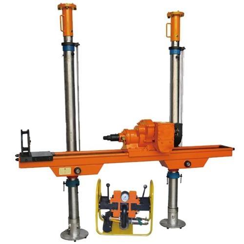 高效率气动架柱式钻机